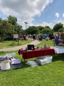 HRH Car Boot Sale Success ready to sell